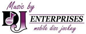DJ Enterprises Mobile Disc Jockey Logo